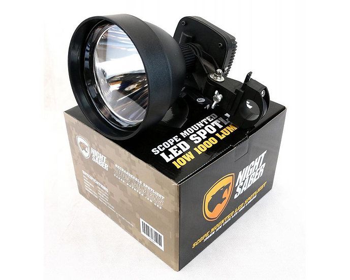 Night Saber - Scope Mounted LED Spotlight