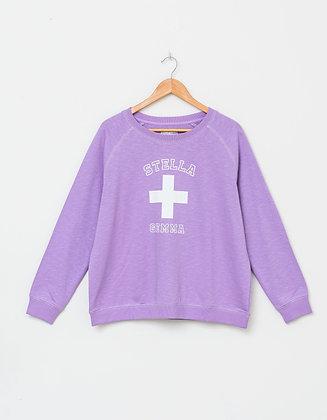 Stella+Gemma Lilac Varisty Sweater
