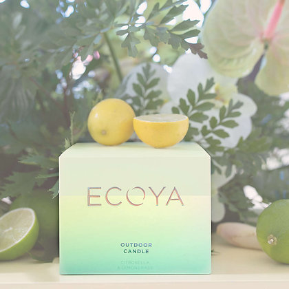 Ecoya Outdoor Candle - 400g - Citronella & Lemongrass