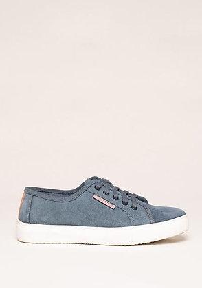 Brakeburn Lace Up Tennis Shoe Blue