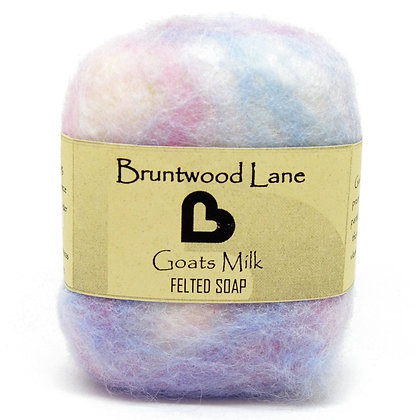 Bruntwood  Lane  Goats Milk Felted Wool Soap