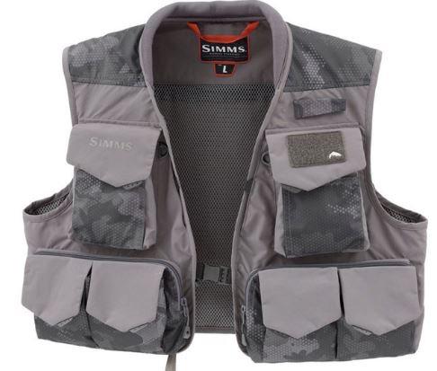Simms Freestone Vest Hex Flo Camo Carbon