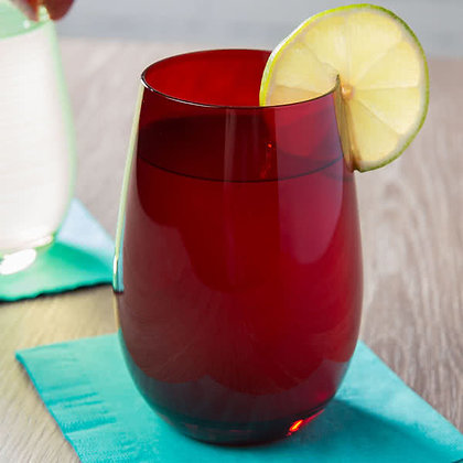 Stolzle Ruby Stemless Wine Glass
