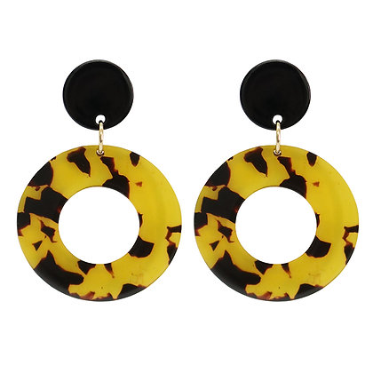 Olive Tiger Rosabel Earrings