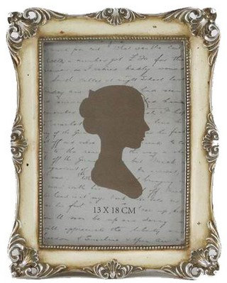 Antique Cream Photo Frame