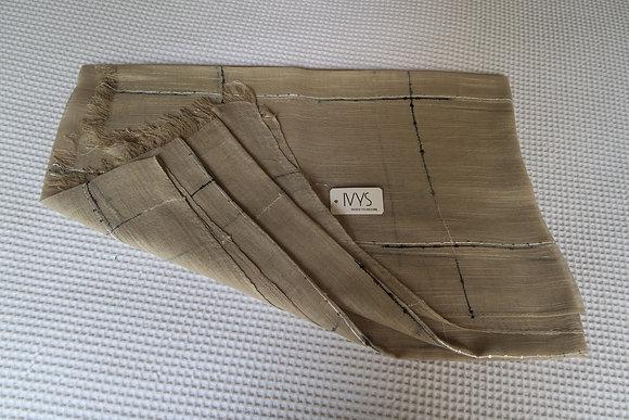 Ivys - Plaid Scarf - Fawn Lightweight