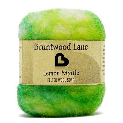 Bruntwood Lane  Lemon Myrtle Felted Soap