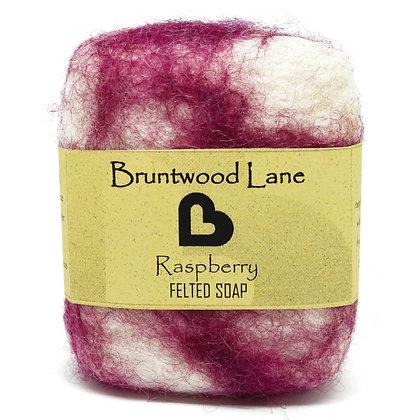 Bruntwood  Lane Raspberry Felted Wool Soap