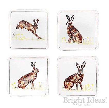Country Life Coasters Hare