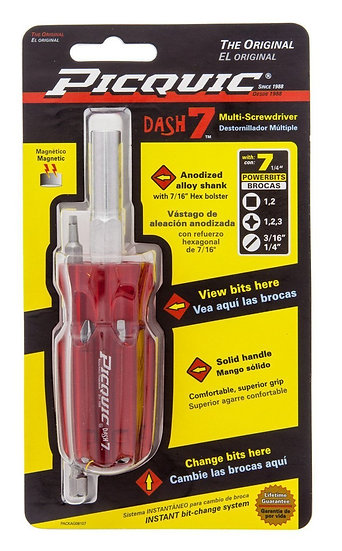 Dash7 - Picquic Multi Screwdriver