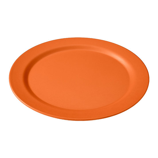 EcoSoulife - Side Plate 25.4cm - Green or Orange