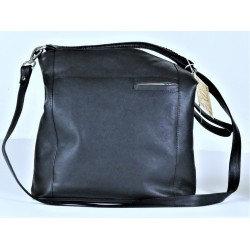 Baron - Leather Handbag - Black