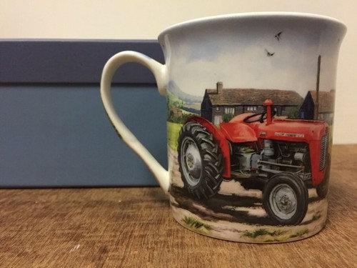 Leonardo Collection - Red Tractor Mug