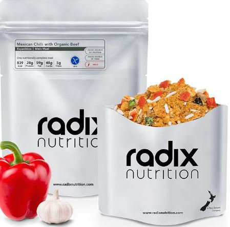 Radix 800 Mexican Chilli with Organic Beef Expedition