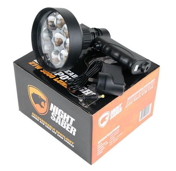 Night Saber - Handheld 120mm LED Spotlight