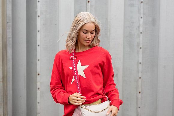 Stella+Gemma Sweater Flame Ecru Star