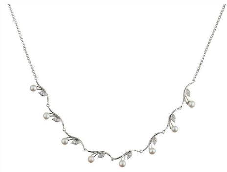 Prive Pearl Petals Necklace