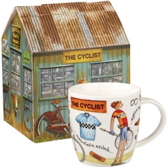 Queens - At Your Leisure  - Cyclist Mug