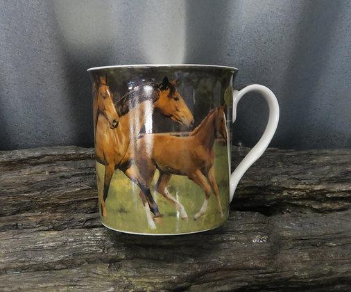 Leonardo Collection - Horse and Foal Mug