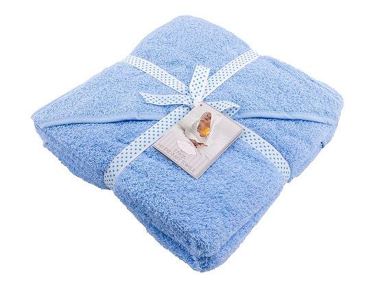 HOODED BABY TOWEL 2 PACK BLUE
