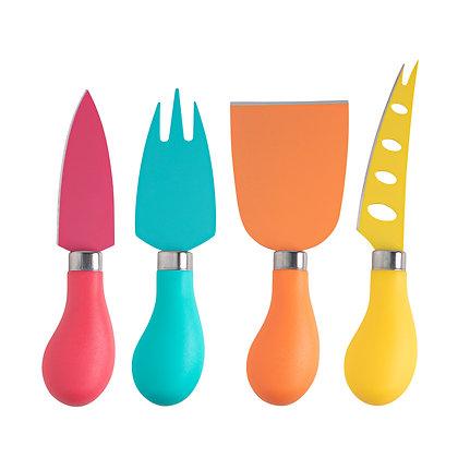 Taylors 4pc Cheese Knife Set