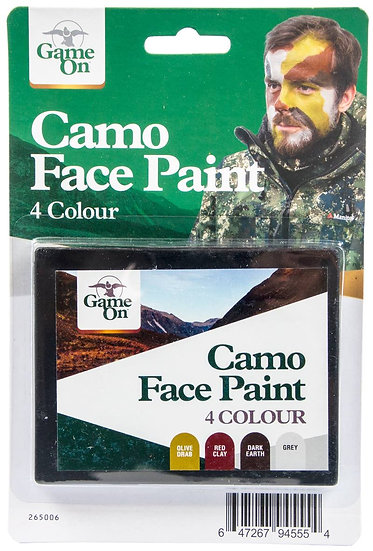 Game On - Camo Face Paint