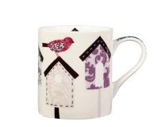 Queens - Fine Bone China Bird House Mug