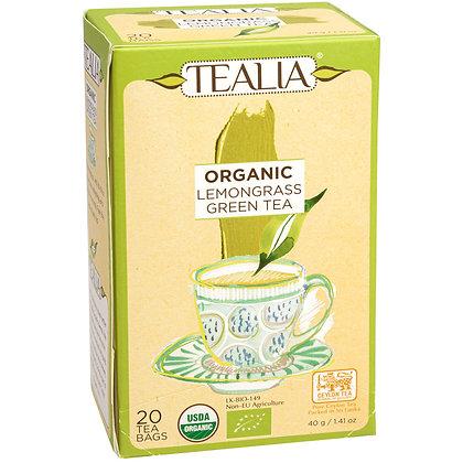 Tealia - Organic Lemongrass Green Tea