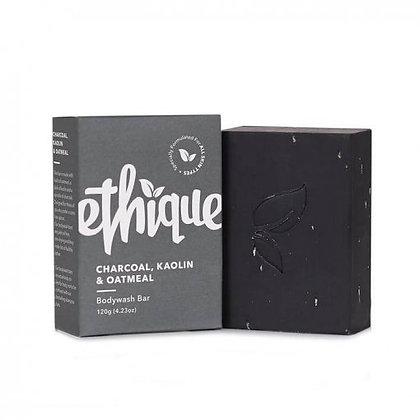 Ethique Bodywash Bar Charcoal,Kaolin, Oatmeal