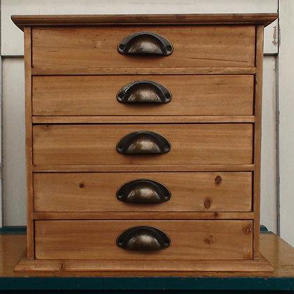 Zakkas 5 Drawer Cabinet