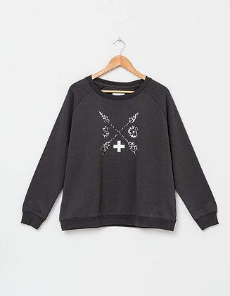 Stella+Gemma Sweater Leopard Arrows