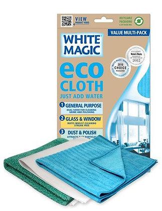 White Magic Eco Cloth Multi Value Pack