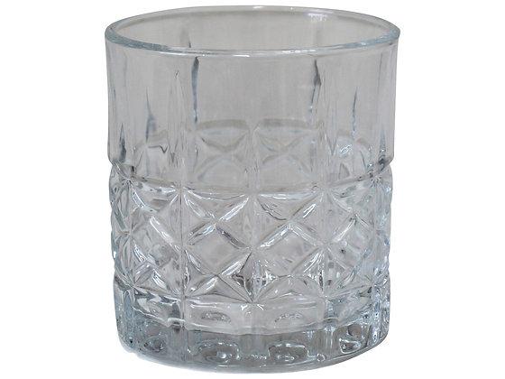 Karbon Style Glass Tumbler