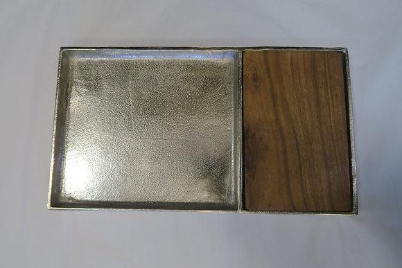 Alumenti - Wood Aluminium Cutting Board Tray