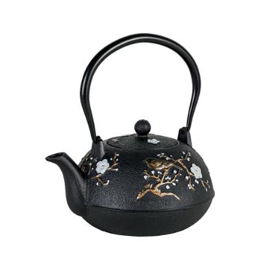 Avanti Castiron Teapot Blossom 1.1lt