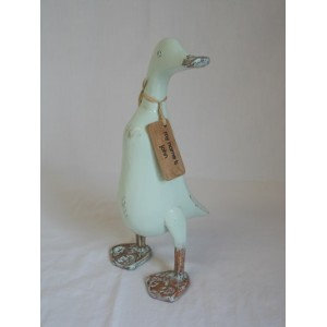 Luscious Living - Teak Upright Duck