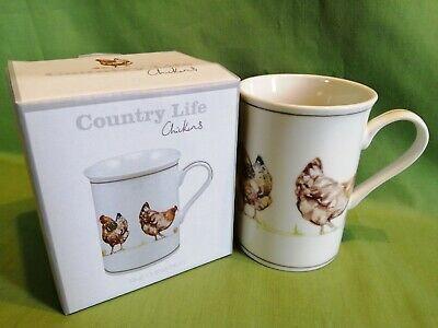 Country Life Mug Chickens