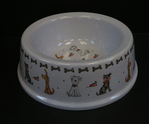 Leonardo - Faithful Friends Dog Bowl