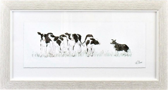 Counting Cows Wall Art