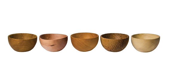 Hand Crafted Wood Mini Bowl