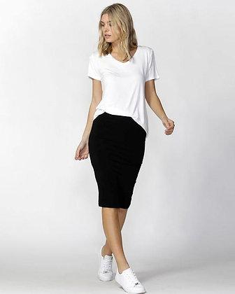 Betty Basics Alicia Midi Skirt Black