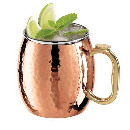 Avanti Mule-Hammered Copper Mug