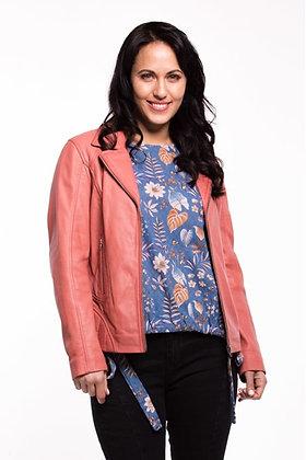 Zafina Noir Jacket Rose