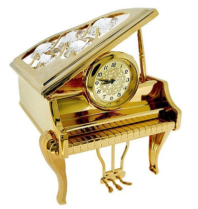 Crystal Temptations Piano Clock