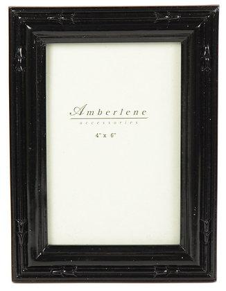 Amberlene - Black Embossed Photo Frame