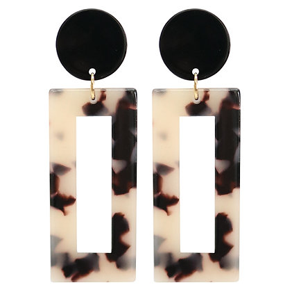 Olive Tiger Ronia Earrings