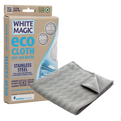 White Magic - Eco Cloth - Stainless Steel
