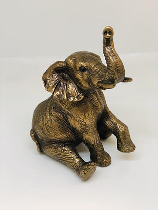 The Leonardo Collection - Bronze Sitting Elephant