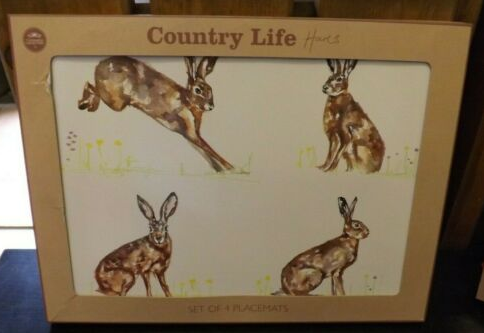 Country Life Placemats Hare