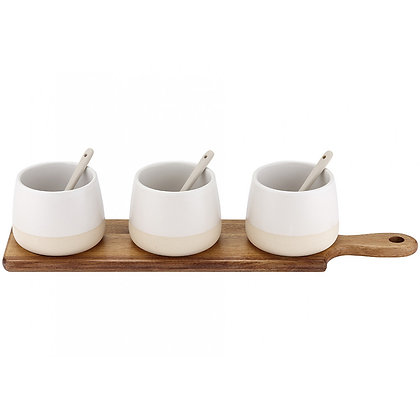 Ladelle Host Bowl And Spoon Set